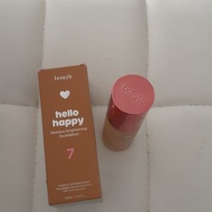 Benefit hello happy flawless foundation #7